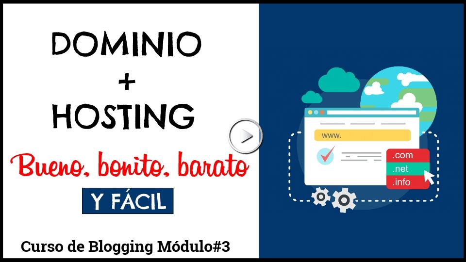 Como crear un dominio y contratar un hosting barato y bueno