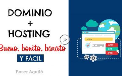 Cómo crear un dominio y un hosting-Bonito😀, bueno👍 + regalo🎁