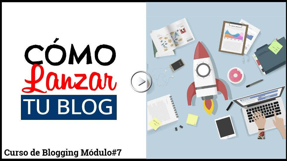 Curso para lanzar tu blog y ganar dinero