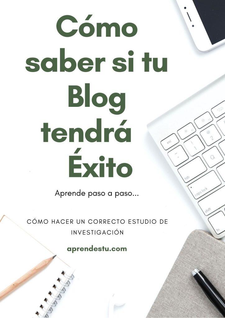 Cómo saber si tu blog tendrá éxito
