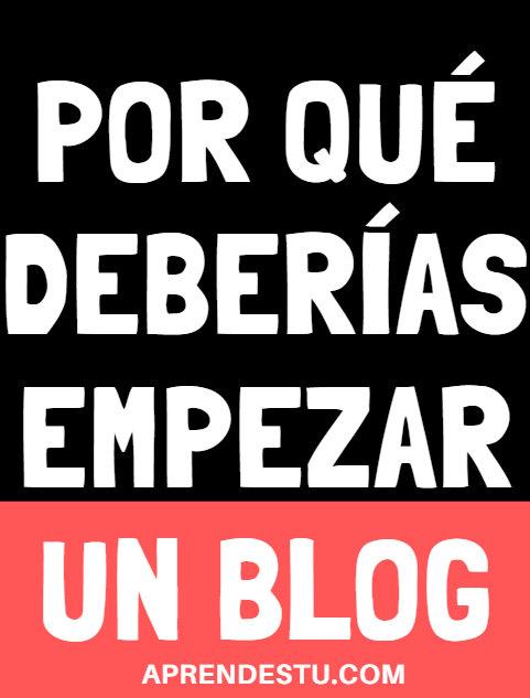 Por qué es bueno tener un blog