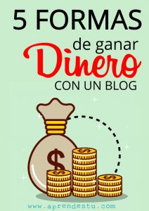 como puedo ganar dinero con un blog