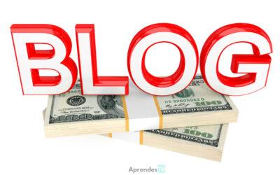 5 Formas de ganar dinero con un blog